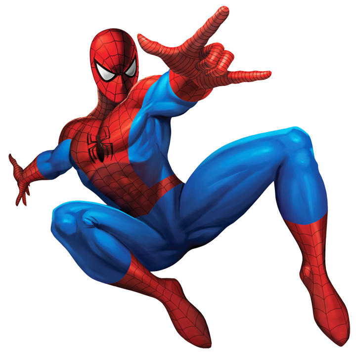 Marvel Character Clipart On Transparent Background