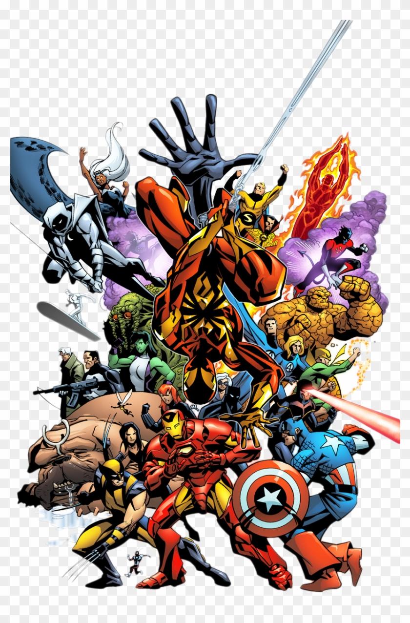 Marvel Comics Png.