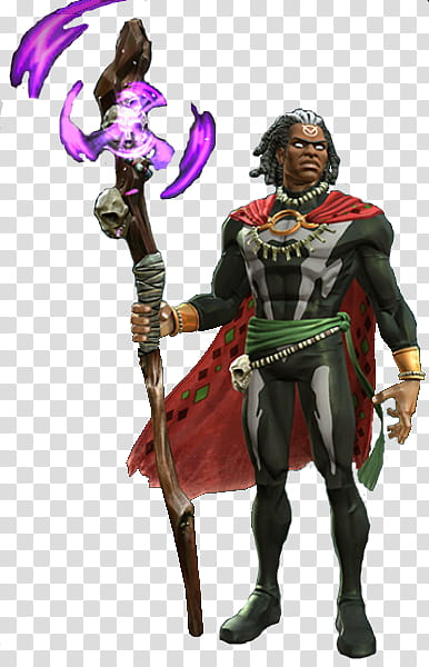 Marvel Contest of Champions Doctor Voodoo transparent.
