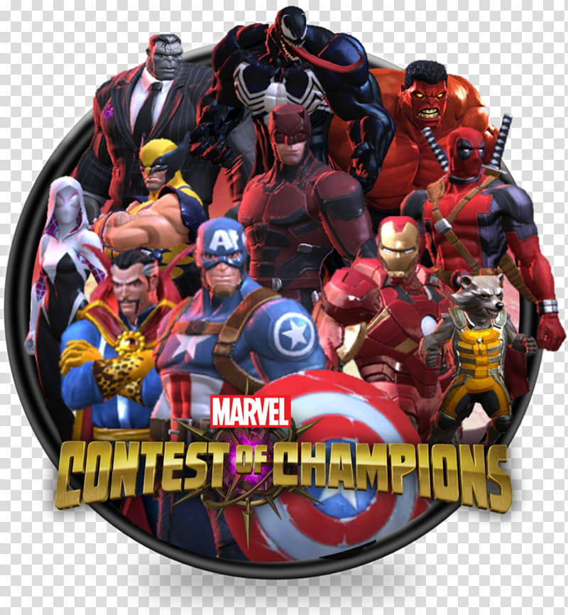 Mcc Icon Marvel Contest Of Champions transparent background.