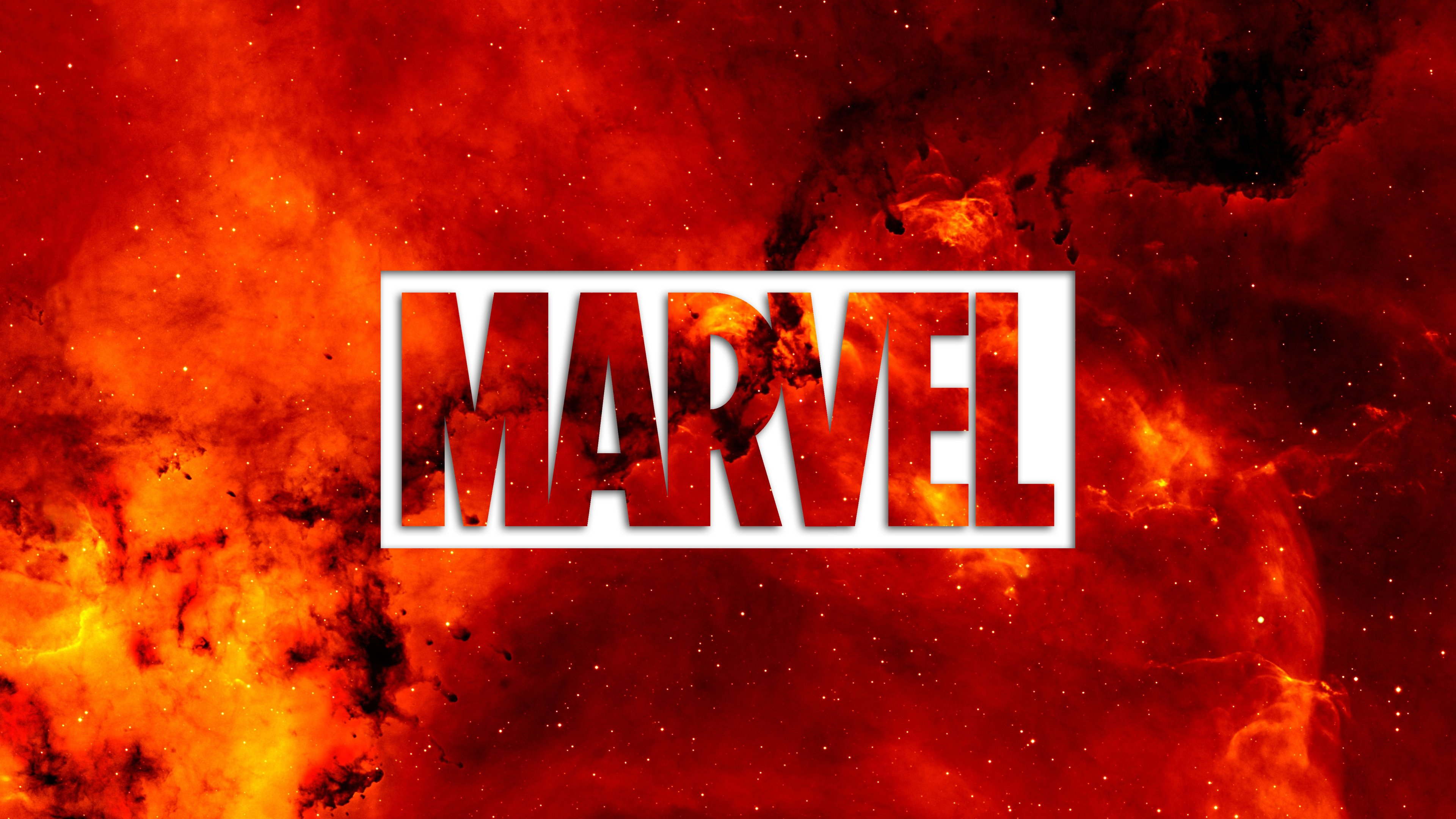 Marvel Logo Wallpaper 4k, Hd Wallpapers & backgrounds.