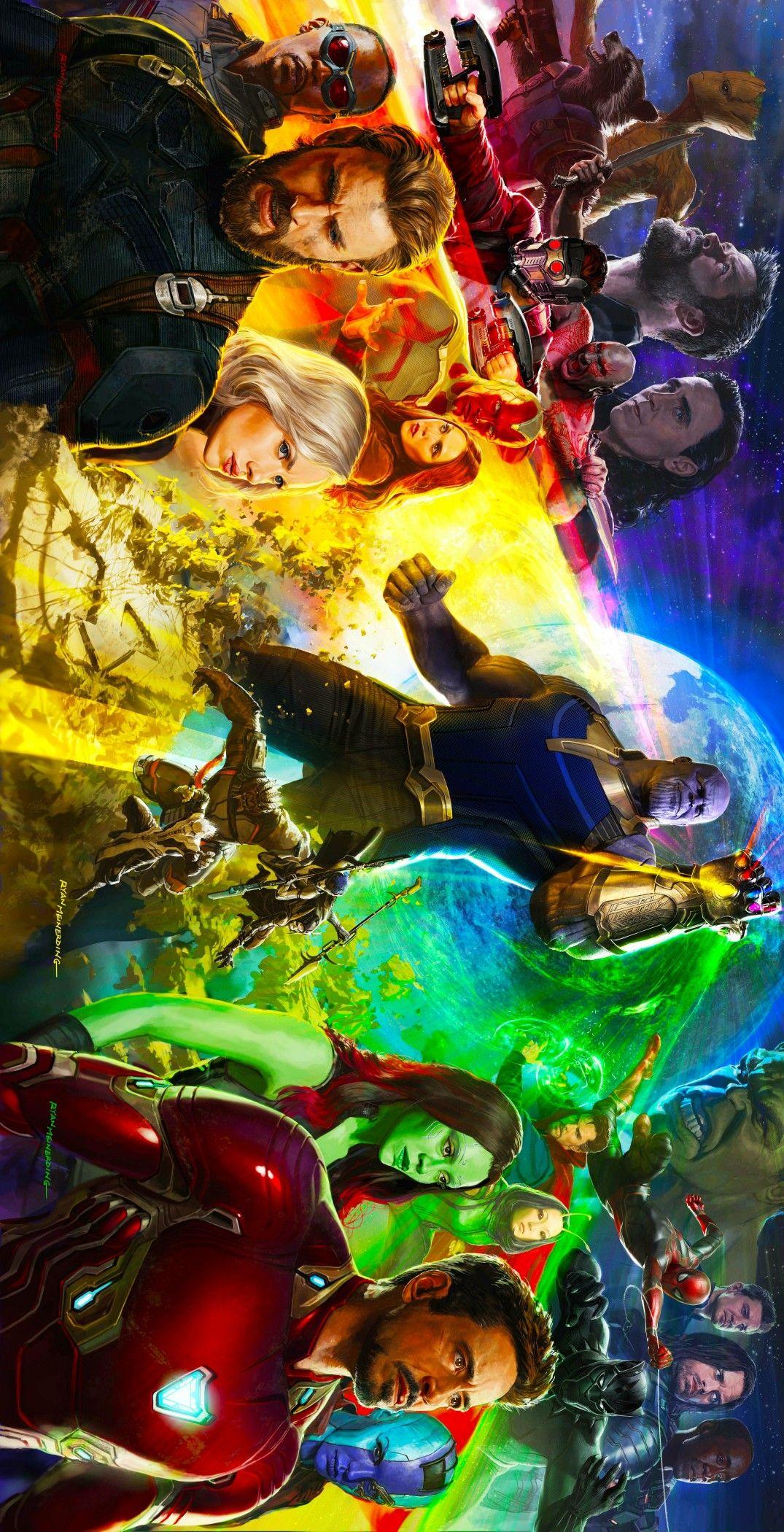 Avengers infinity War All Superheroes Clip Art❤️ #MCU.