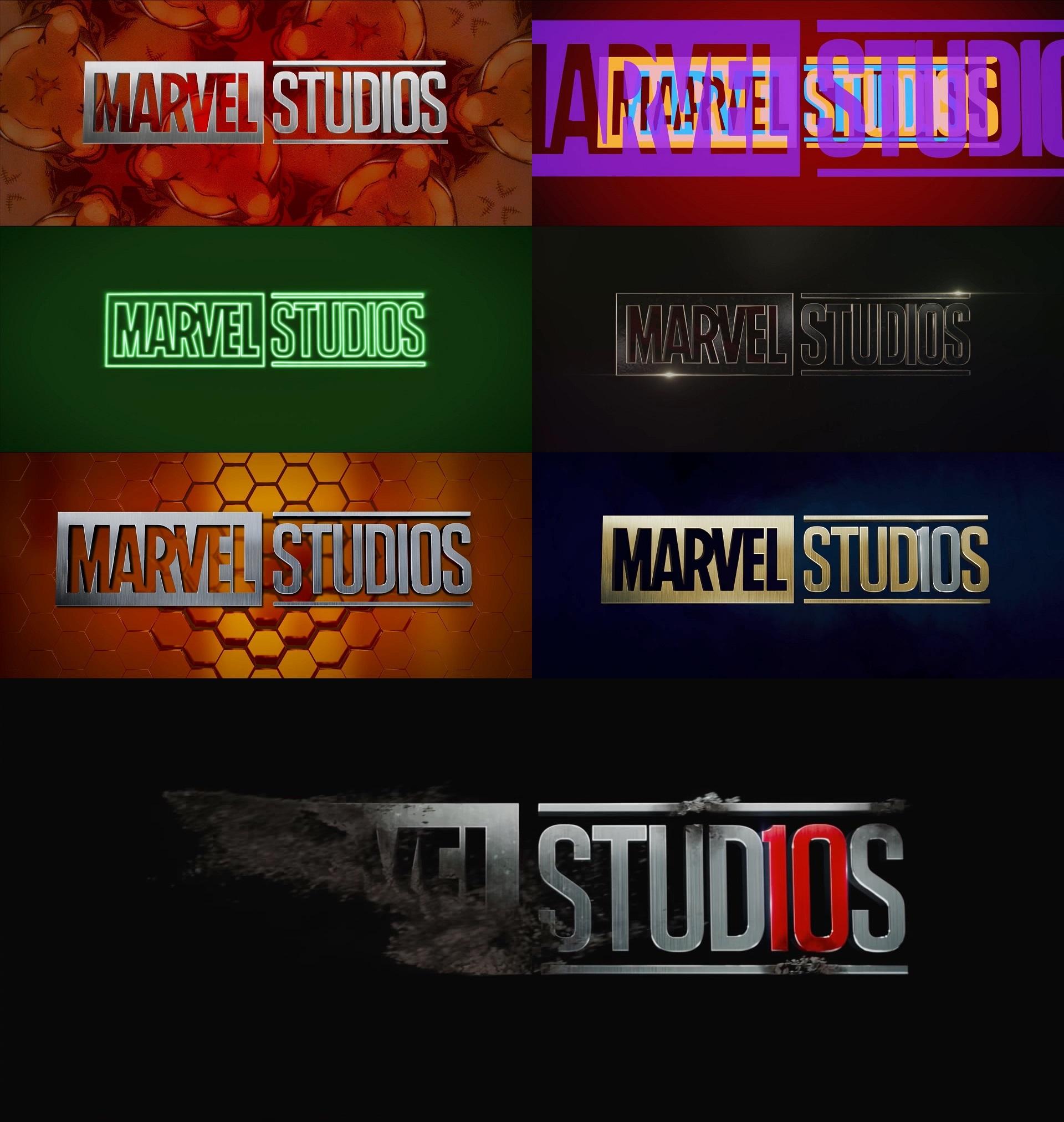 Marvel Studios\' trailer logo throughout Phase 3 : marvelstudios.