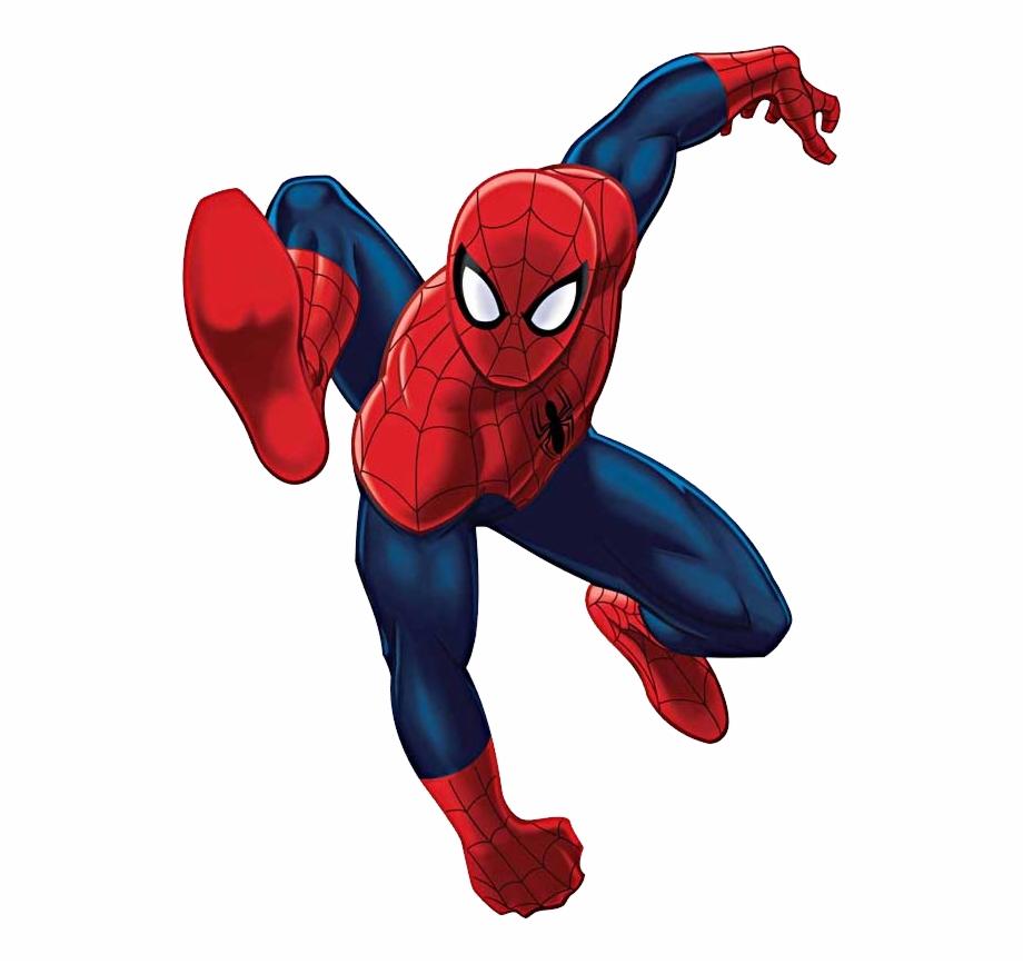 Jump Clipart Superhero.