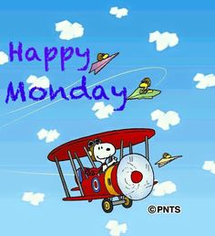 Have a great Monday..