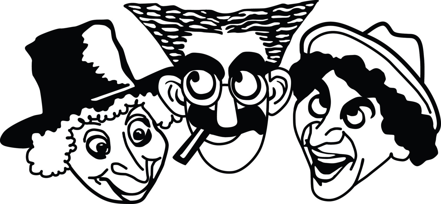 Marx brothers clipart.