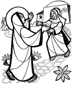 Free Mary Visitation Cliparts, Download Free Clip Art, Free.