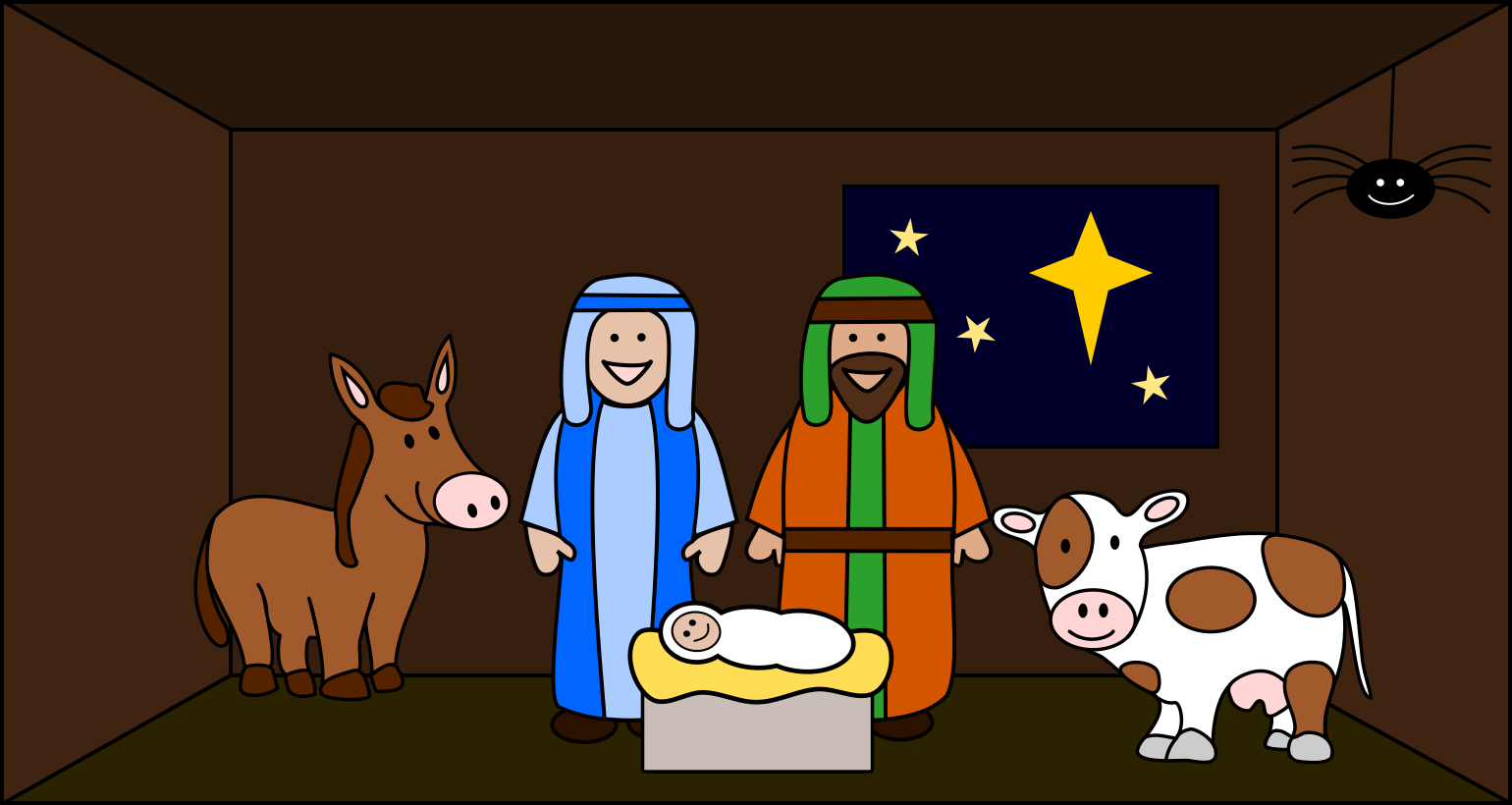 The First Christmas Story.