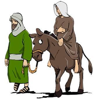Bethlehem clipart mary joseph donkey, Bethlehem mary joseph.