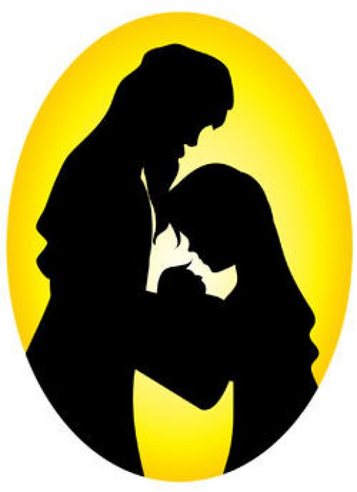 Mary And Joseph Silhouette at GetDrawings.com.