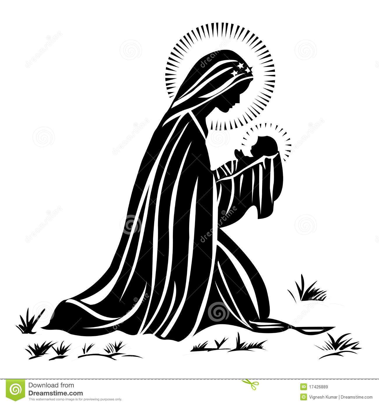 Mary baby jesus clipart 4 » Clipart Portal.