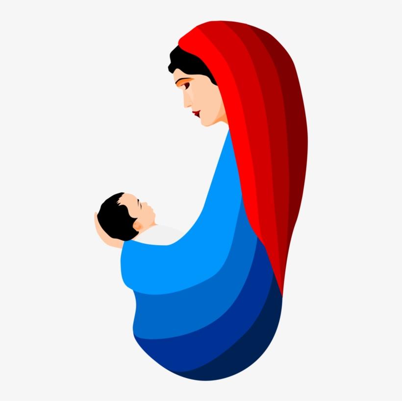 Mary Nativity Clipart.