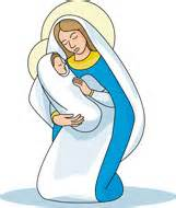 Similiar The Virgin Mary And Rosary Clip Art Keywords.