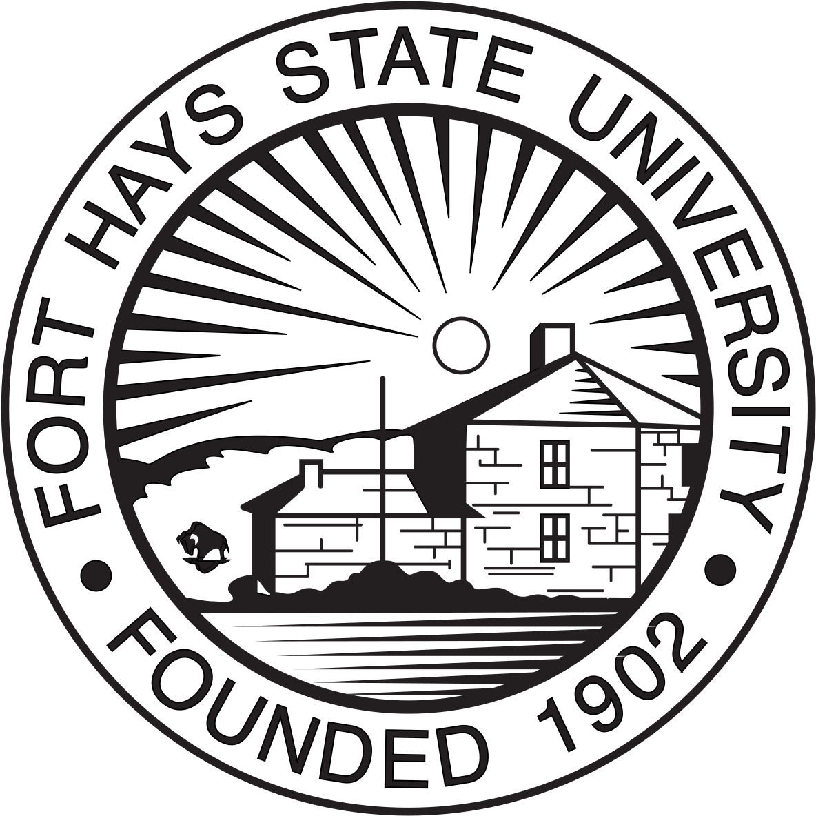 Fort Hays State University Clipart.