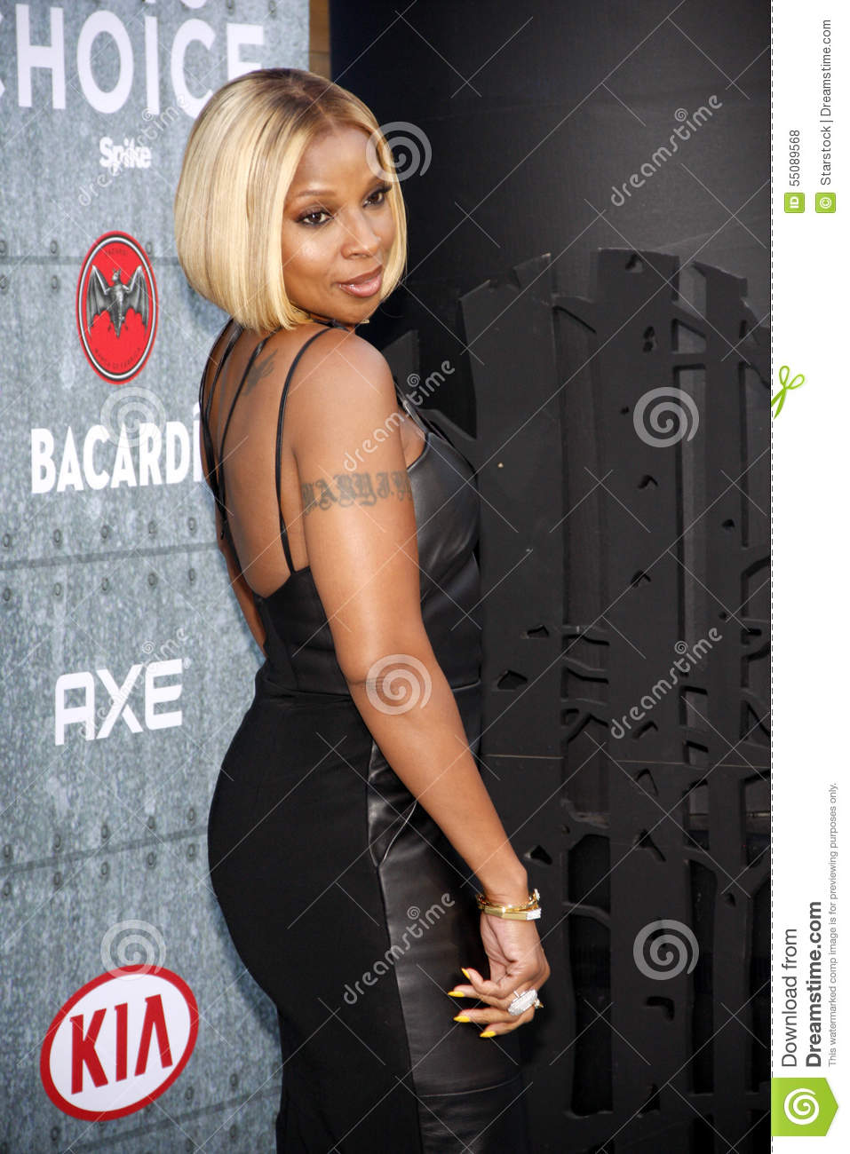 Mary J. Blige Editorial Stock Photo.