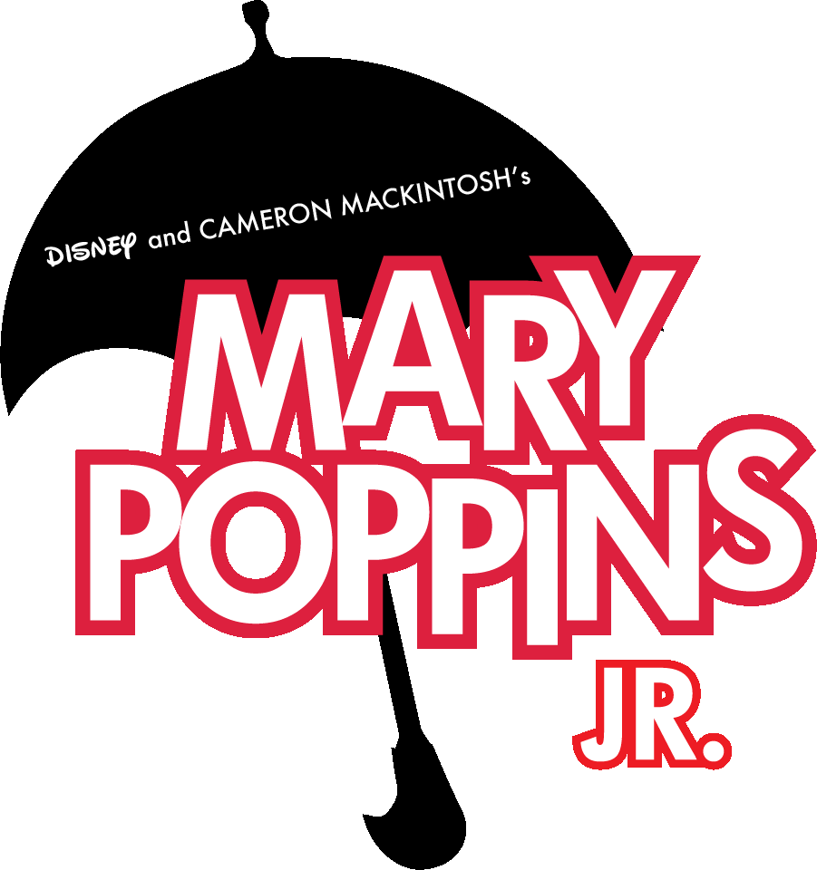 Mary Poppins Jr Logo Png , Transparent Cartoon.
