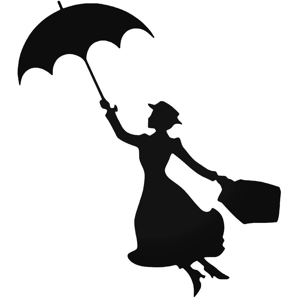 Download Free png Mary poppins umbrella clipart » Clipart.
