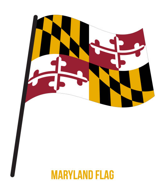 Best Maryland Flag Illustrations, Royalty.