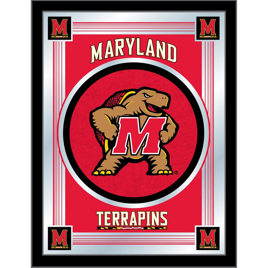 Maryland Terrapins 17\'\' x 22\'\' Logo Mirror.