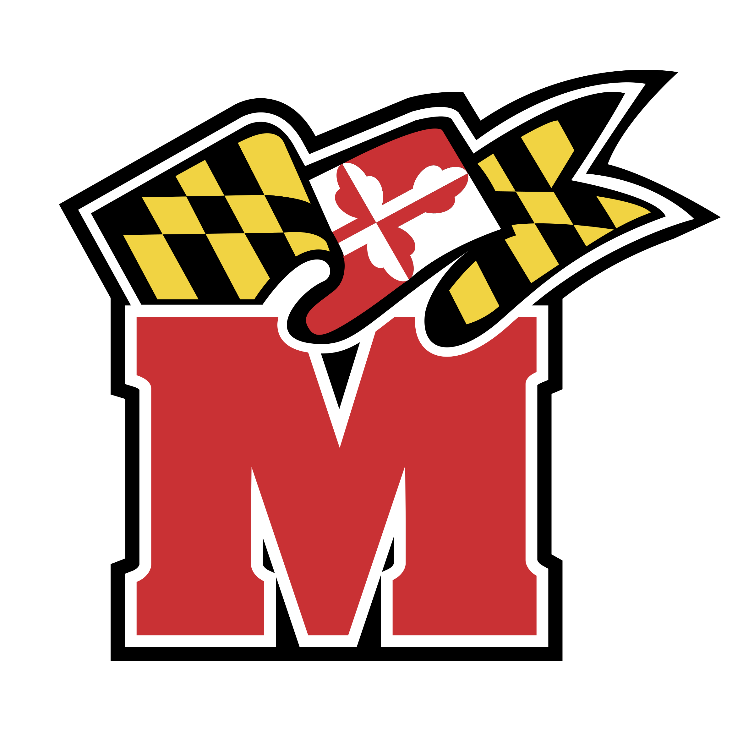 Maryland Terps Logo PNG Transparent & SVG Vector.