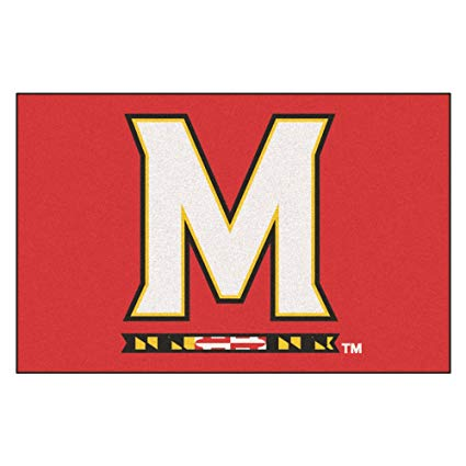 Amazon.com : University of Maryland Logo Area Rug : Sports.