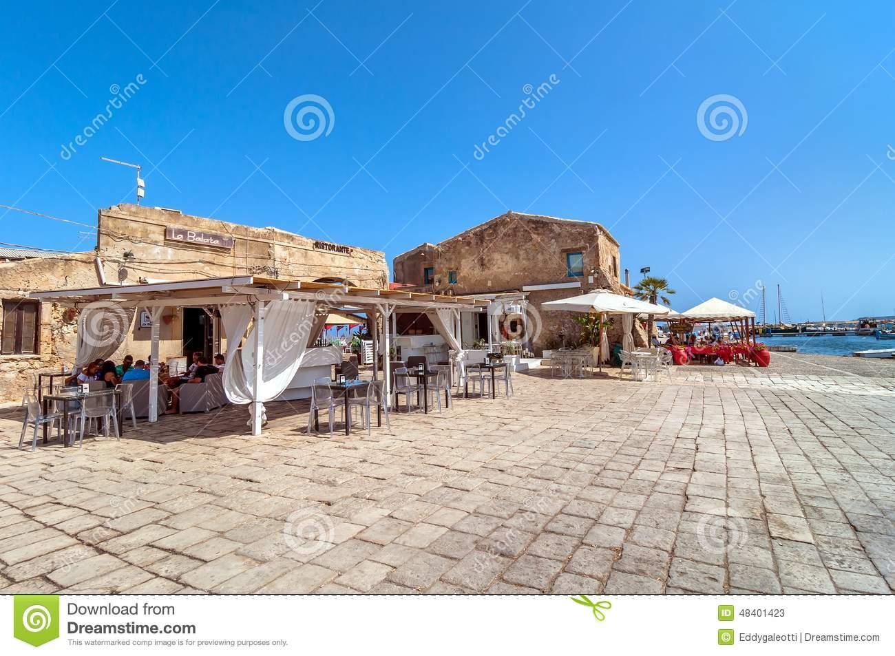 Marzamemi Small Fishing Village In Southeastern Sicily.