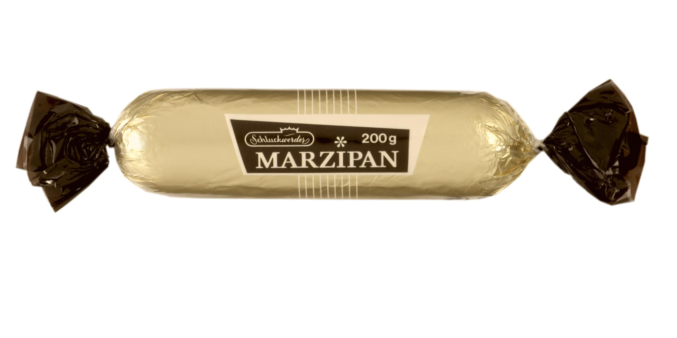 Schluckwerder Chocolate Covered Marzipan Bar 200g.