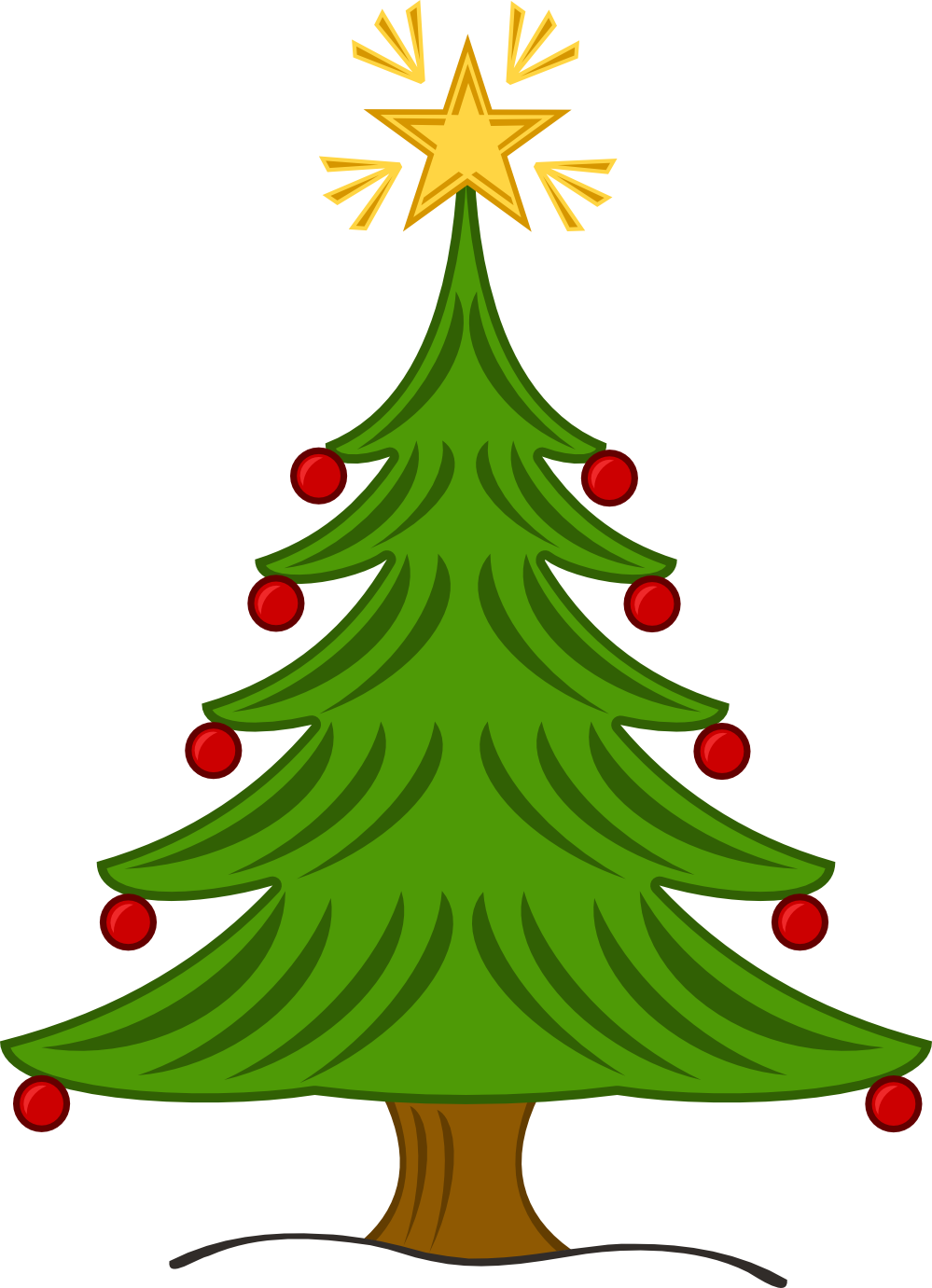 X Mas Tree.