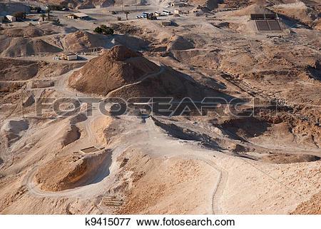 Picture of Siege ramp at Masada k9415077.