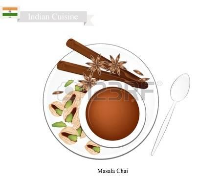 Indian masala com clipart.