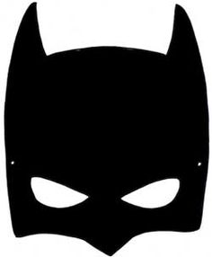 Batman Mask Silhouette.