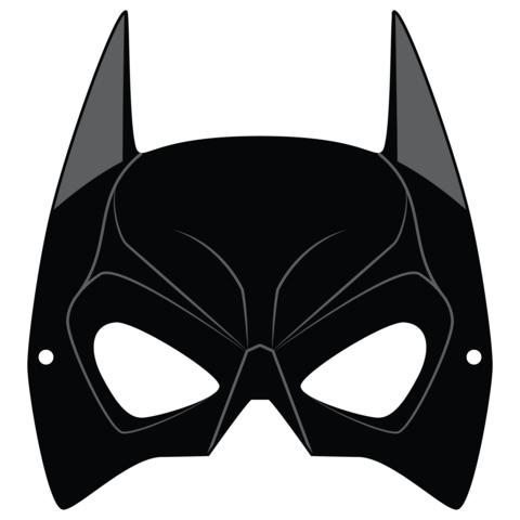 Plantilla de Máscara de Batman.