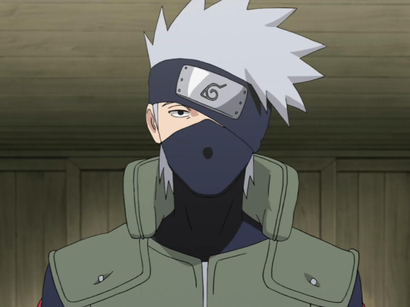 Naruto Shippuden: Por que Kakashi usa uma máscara.