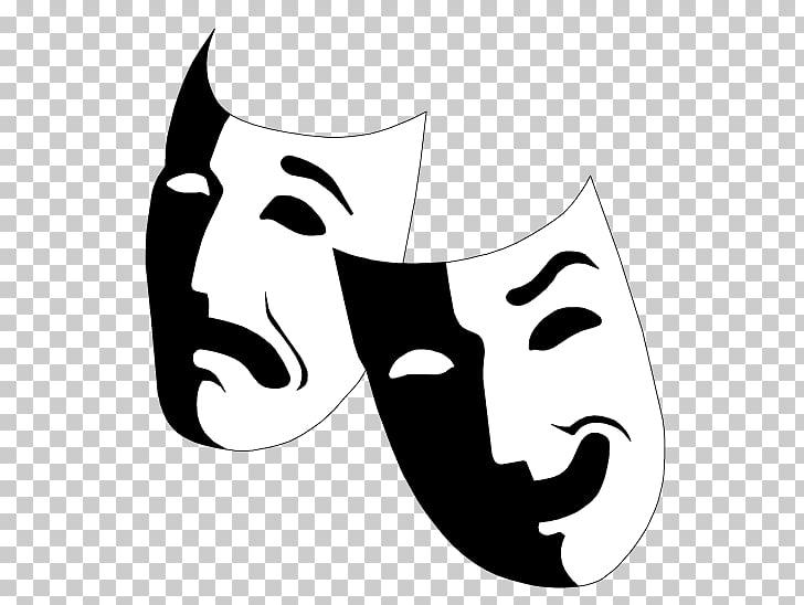 Dos máscaras de ópera, máscara teatro dramático musical.