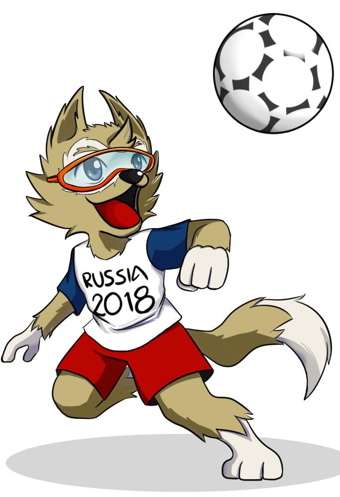 Mascote da copa 2018 download free clipart with a.