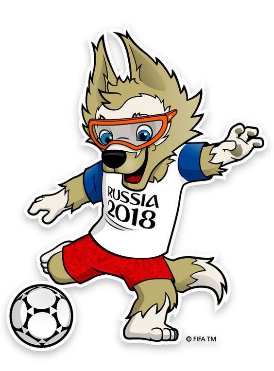 Saiba como desenhar Zabivaka, o Mascote Copa_2018 #copa.