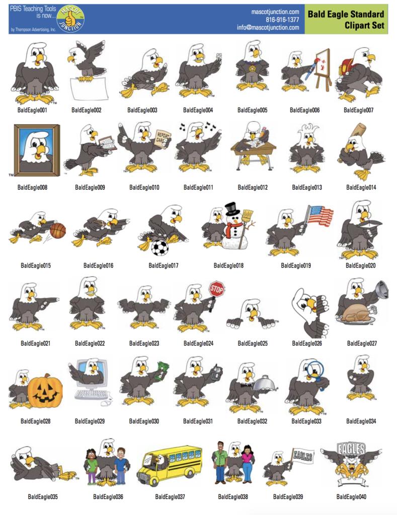 Eagle Mascot.