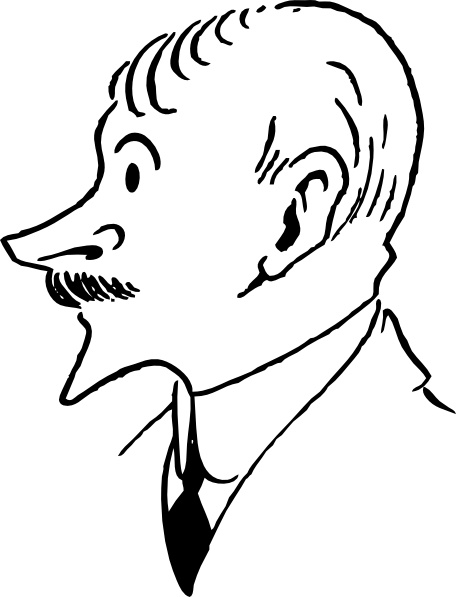 John Masefield clip art Free vector in Open office drawing svg.