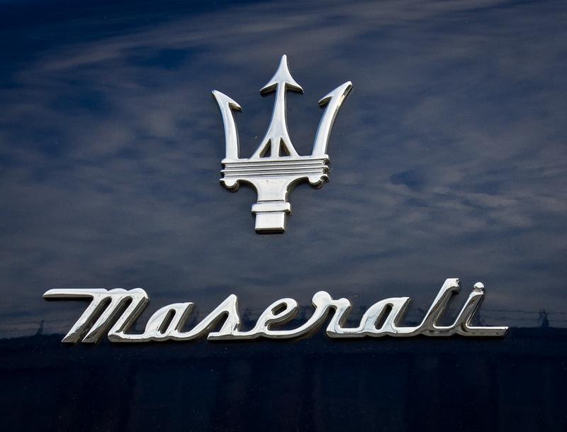 Maserati logo history, Maserati emblem.
