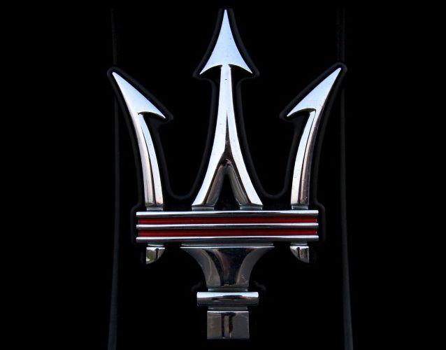 Maserati logo 11.