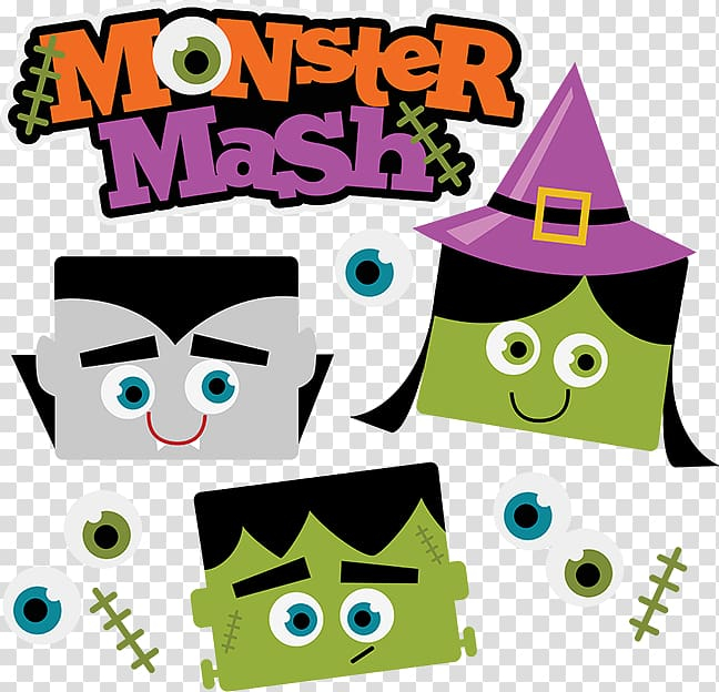 Monster Mash Monster Party , monster transparent background.