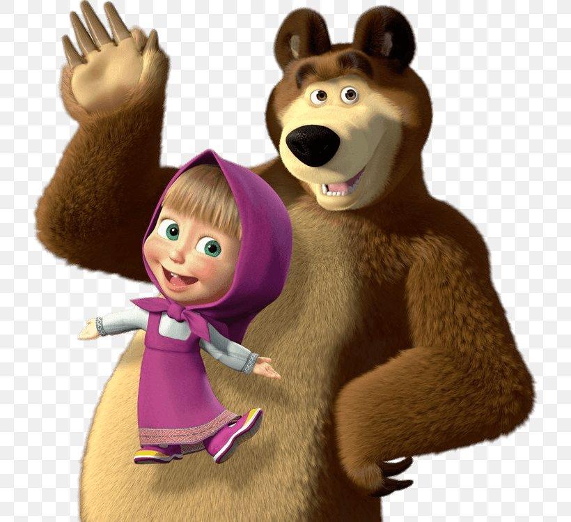 Masha And The Bear Clip Art, PNG, 736x749px, Masha And The.