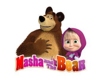 Masha Image, Masha Cutout, Masha and the Bear Image, Masha.