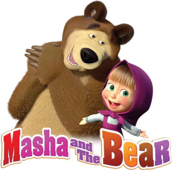 Masha and The Bear Iron On Transfer in 2019.