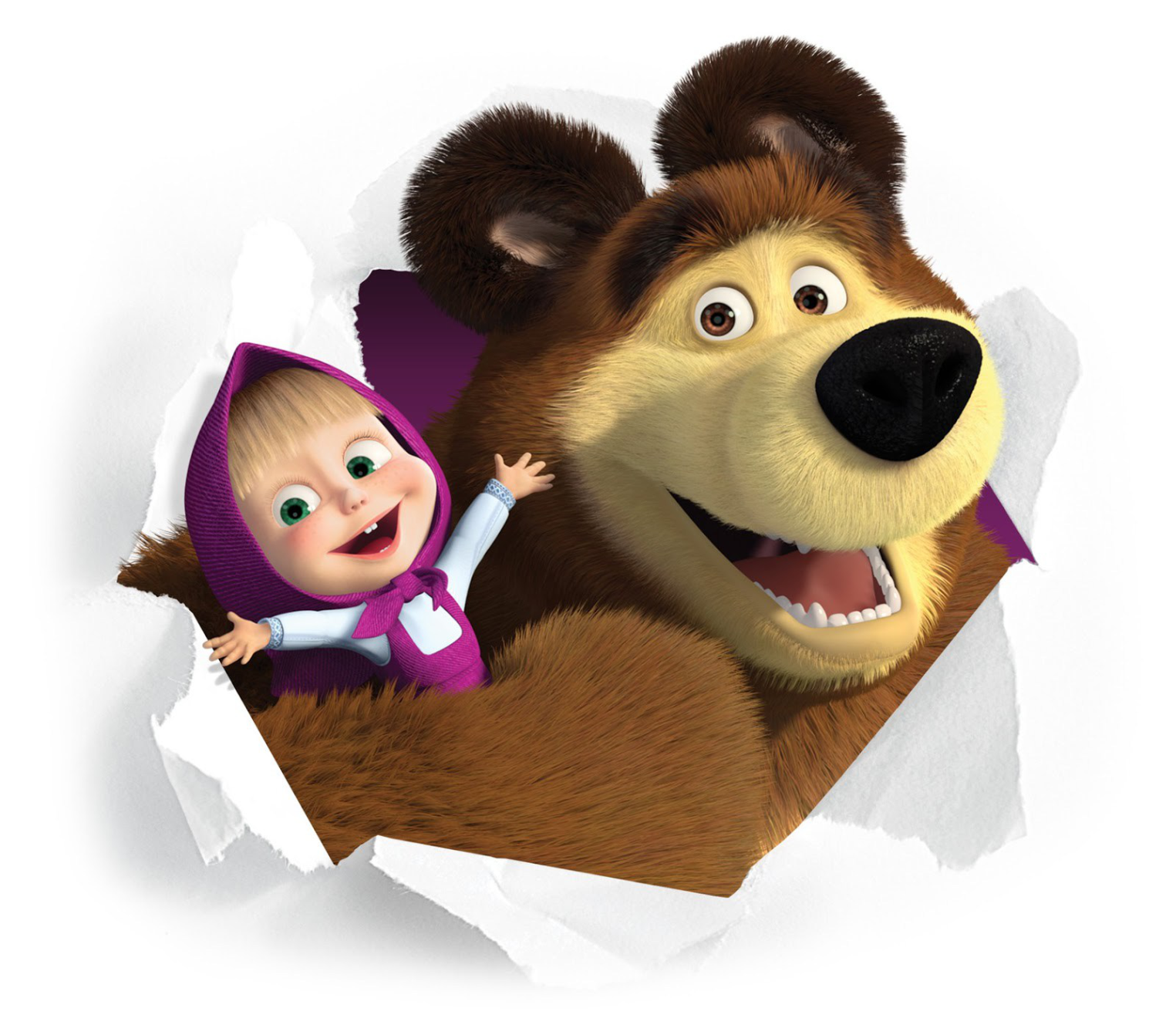 Masha and the bear free images png #47258.
