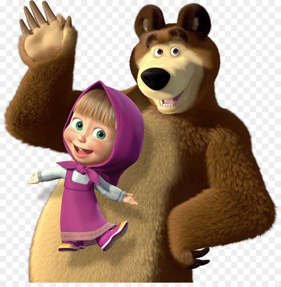 Masha And The Bear clipart.