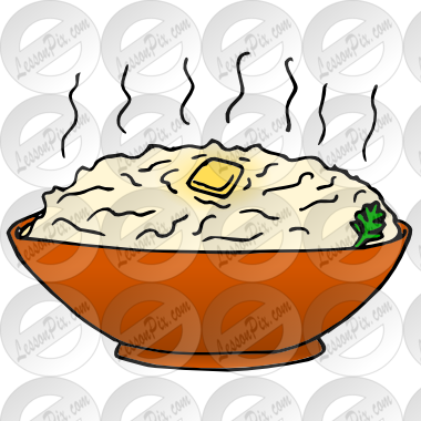 Mashed Potatoes Picture for Classroom / Therapy Use.