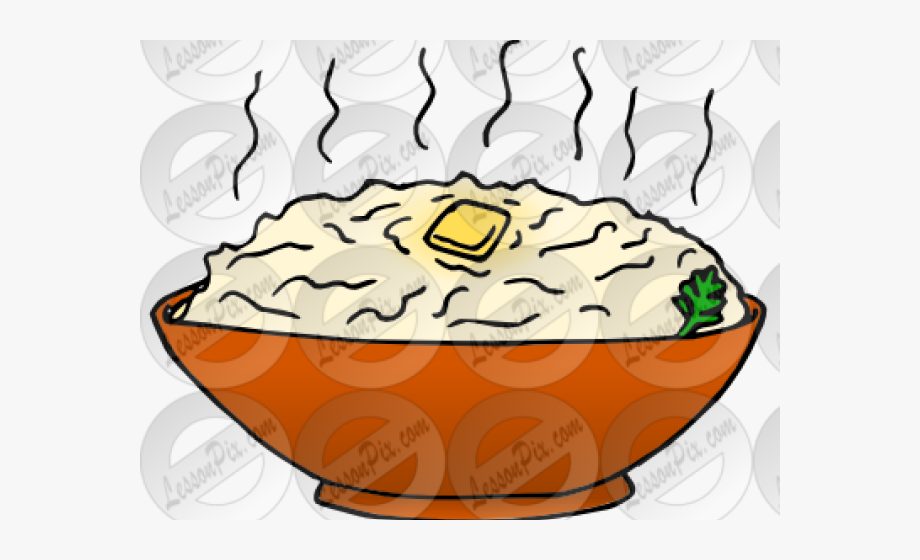 Potato Clipart Mashed Potato.