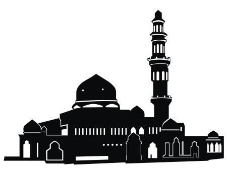 Masjid clip art.