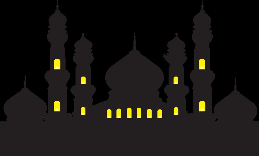Mosque Ramadan Islam Illustration.